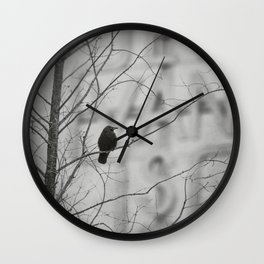 Vancouver Raincity Series - East Van Wall Clock