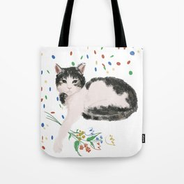 Flowers For Frankie Tote Bag