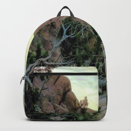 Gnarly Branch Zen Joshua Tree Backpack