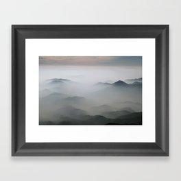Mountains mood 2 Framed Art Print