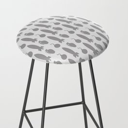Boom! Bombs Away (Patterns Please) Bar Stool