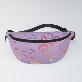Musical Notes 7 Fanny Pack