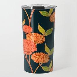 Orange autumn berries. Travel Mug