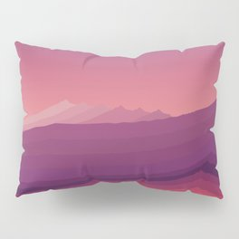 iso mountain evening Pillow Sham