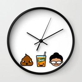 Poo Tang Ina Wall Clock