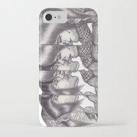 boys iPhone & iPod Cases featuring Boys Boys Boys by Emiliano del Toro