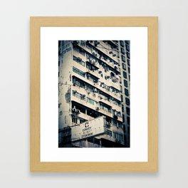 Rundown Hong Kong  Framed Art Print