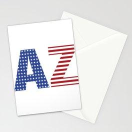 Arizona 4th Of July Stationery Cards