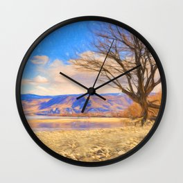 The Sandbar Wall Clock