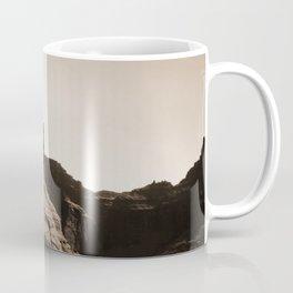 Canyon de Chelly - Chinle, Arizona – Navajo Indians on Horseback by Edward Curtis Coffee Mug