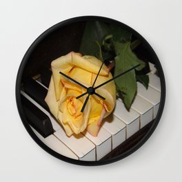 A Song From A Rose   Wall Clock