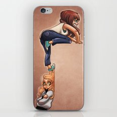 Invisible wall iPhone & iPod Skin