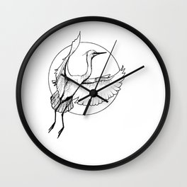 "Crane, ""The Release"" Wall Clock"