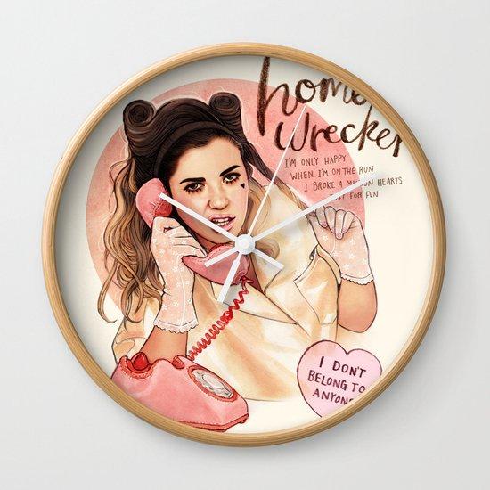 Homewrecker Wall Clock
