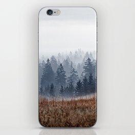 Lost In Fog iPhone Skin