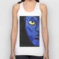 avatar Tank Tops featuring Avatar by Paxelart