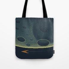 MERCURY Space Tourism Travel Poster Tote Bag