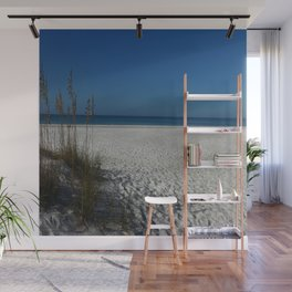 A Peaceful Day At A Marvelous Gulf Shore Beach Wall Mural