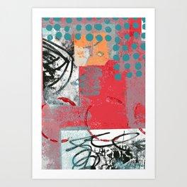Jane Says #1 Art Print