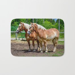 """Equine Duo"" Bath Mat"