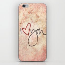 I love you more... every day - 01 (3 piece set) iPhone Skin