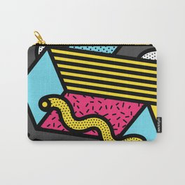Memphis Pop-art Pattern IV Carry-All Pouch