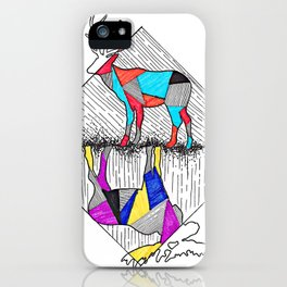 A wounded deer leaps the highest iPhone Case