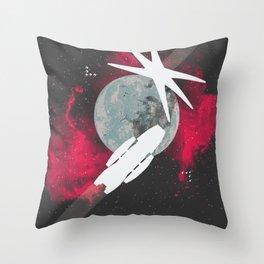 Minimal Galactica Throw Pillow