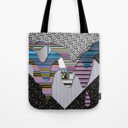 drippy black Tote Bag