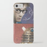 dalek iPhone & iPod Cases featuring Doctor Dalek by Topaz Arrow