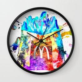 McDonald's Fries Wall Clock
