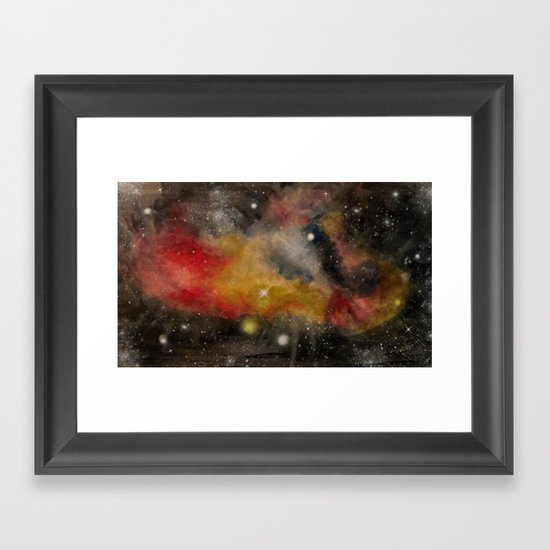 Galaxy II Framed Art Print