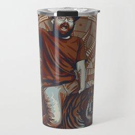 Yeti, King of the Tigers.  Travel Mug
