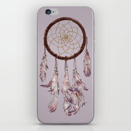 dreamcatcher purple iPhone Skin
