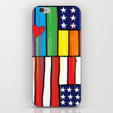 Flags for The Future 34: These colors do run iPhone & iPod Skin