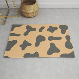Colorful Cow Skin Pattern Rug