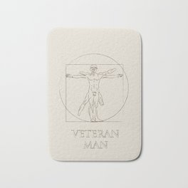Veteran Man Bath Mat