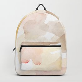 Muted Summer - Abstract Watercolor Art Backpack