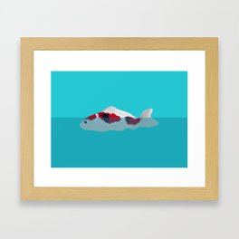 Japanese Fish Framed Art Print