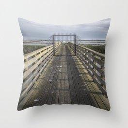 Delta - Gate Throw Pillow