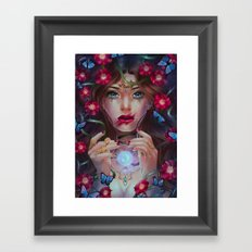 Wild Rose Framed Art Print