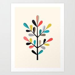 Modern Branch Art Print
