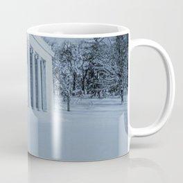 Temple of Music - Winter Scene - Roger Williams Park, Providence Rhode Island Coffee Mug