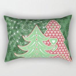 Xmastrees_04a Rectangular Pillow
