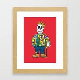 Biggie Skulls Framed Art Print