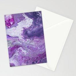 Lilac Galaxy Stationery Cards