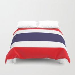flag of thailand 2 -thailand,Siam,thai,siamese,bangkok. Duvet Cover
