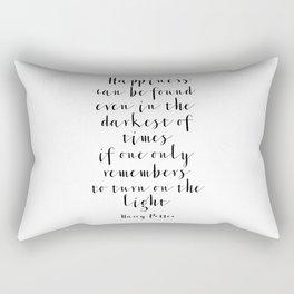 Printable Art, Quote,Kids Room Decor,Nursery Decor,Nursery Wall Art,Quote Prints Rectangular Pillow