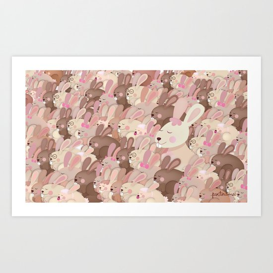 We love you Mommy Art Print