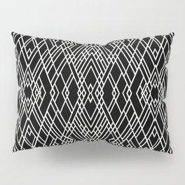 Art Deco Black and White Pillow Sham